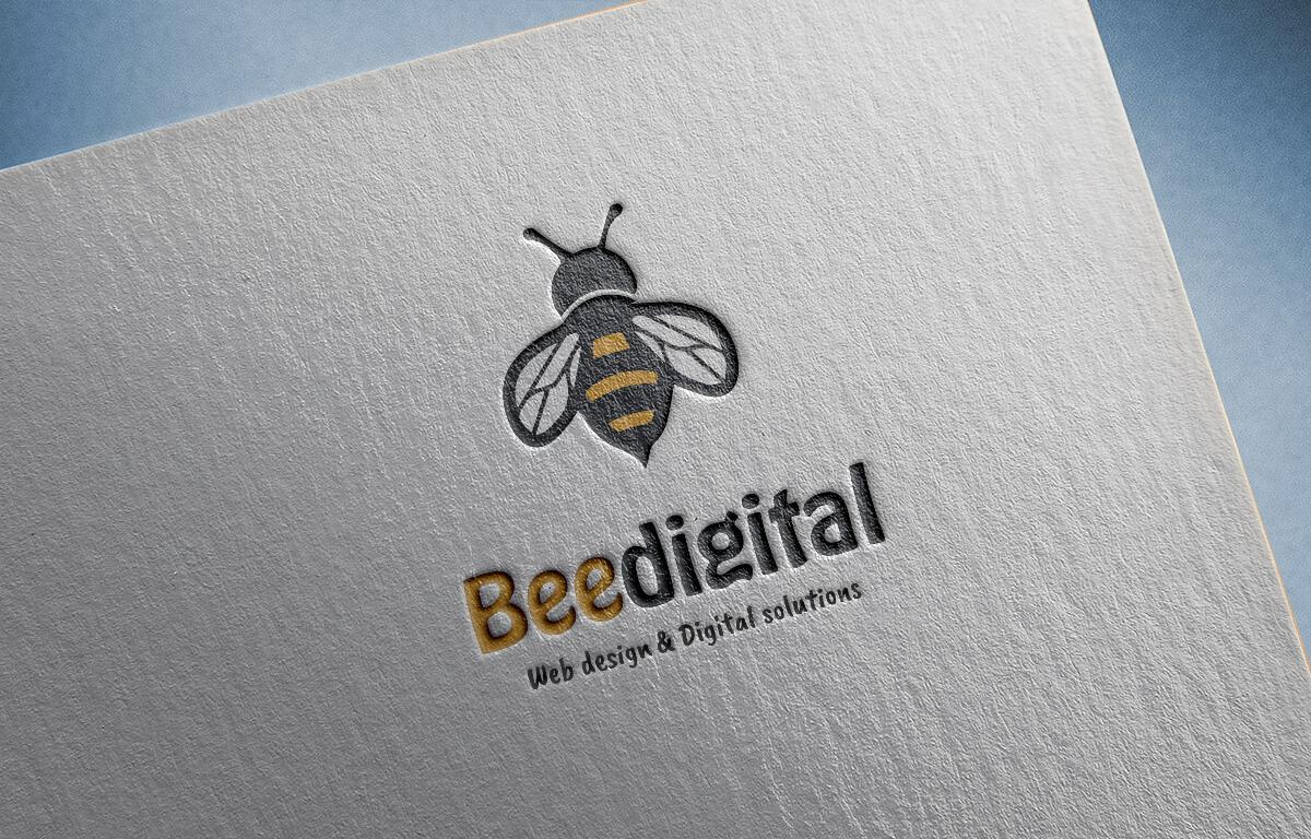 לוגו BEEDIGITAL מוקאפ (1)