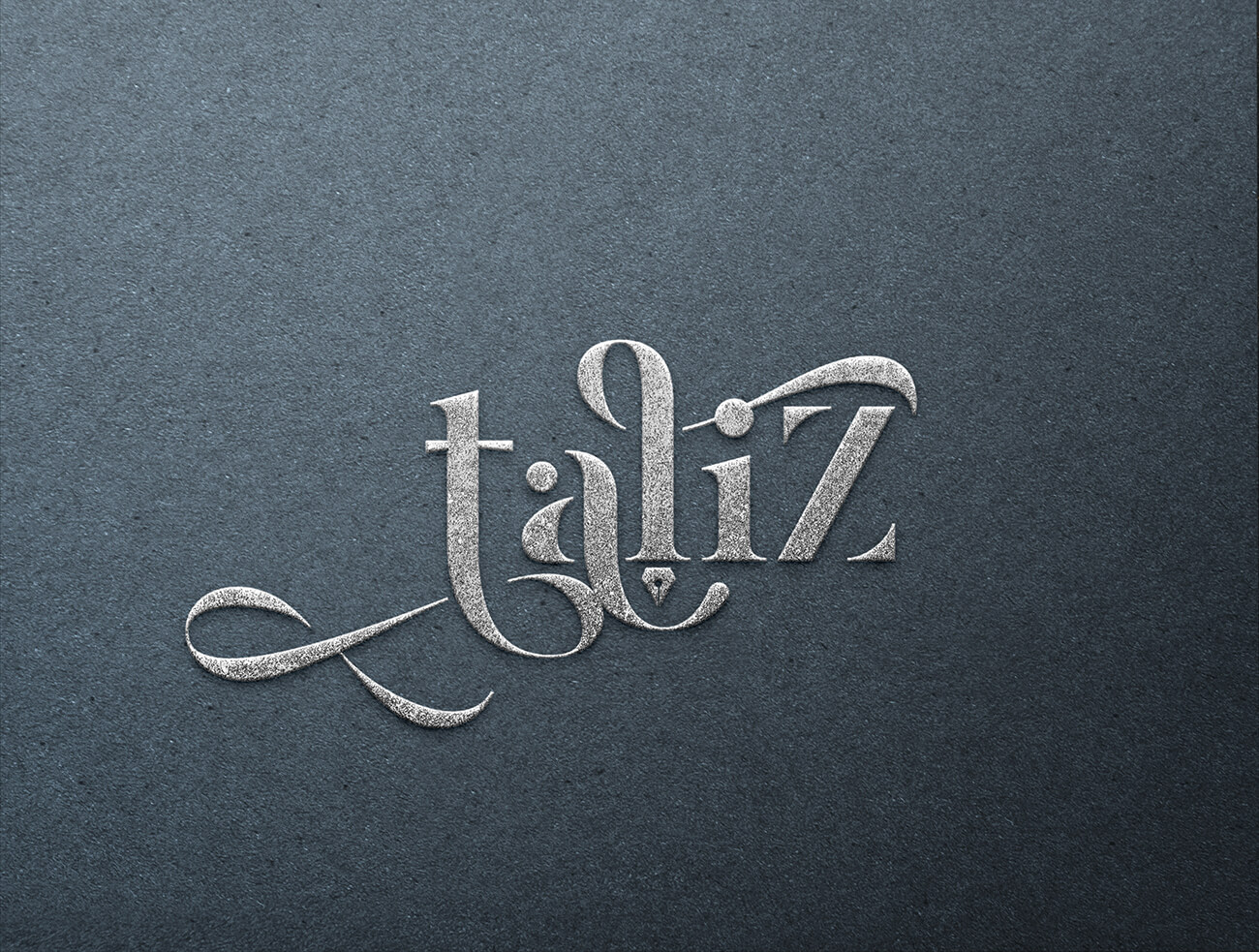עיוצב לוגו למעצבת תכשיטים טליז