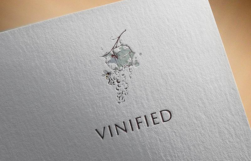 עיצוב לוגו לחברת יין וויפילד